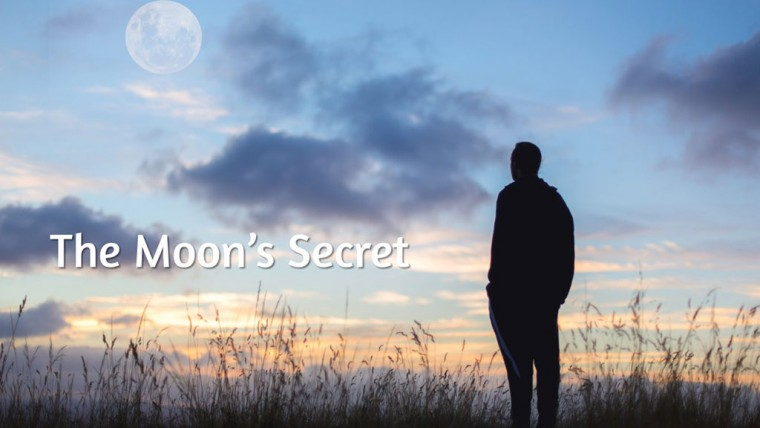 "Sun Prairie UMC Online Worship Introduction image ""The Moon's Secret"""