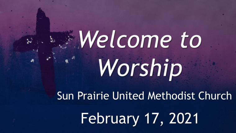 Welcome to Ash Wednesday On-line Worship